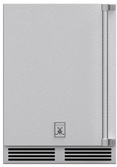 "Hestan Professional 24"" Steeletto Outdoor Refrigerator-GRSL24"