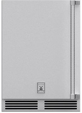 "Hestan Professional 24"" Steeletto Outdoor Dual Zone Refrigerator-GRWSL24"