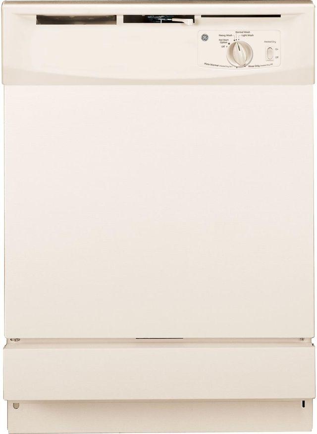 "GE® 24"" Built In Dishwasher-Bisque-GSD2100VCC"