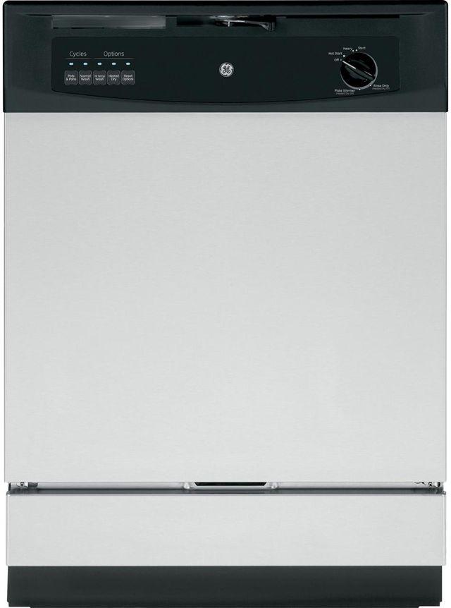 "GE® 24"" Built In Dishwasher-Stainless Steel-GSD3361KSS"