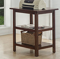 """Winners Only® 22"""" Home Office Willow Creek Corner Table-GW122E"""