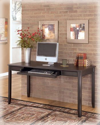 Signature Design by Ashley® Carlyle Home Office Large Leg Desk-H371-44