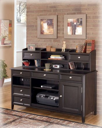 Carlyle Home Office Short Desk Hutch-H371-48