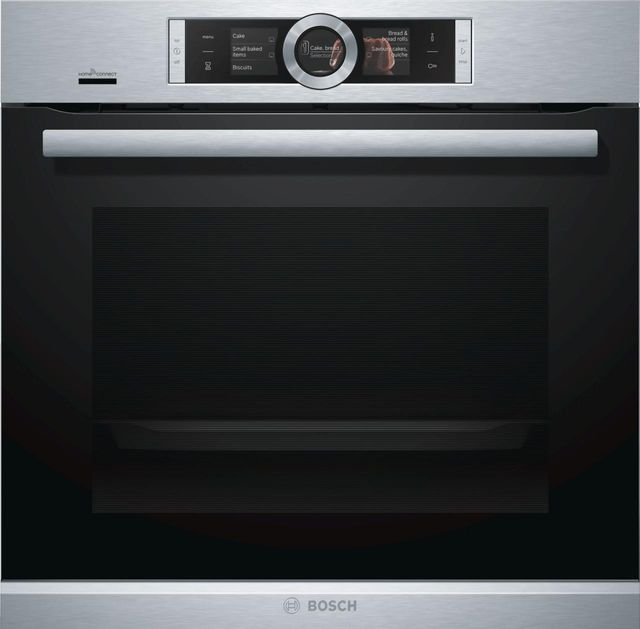 """Bosch 500 Series 24"""" Built In Electric Single Wall Oven-Stainless Steel-HBE5452UC"""