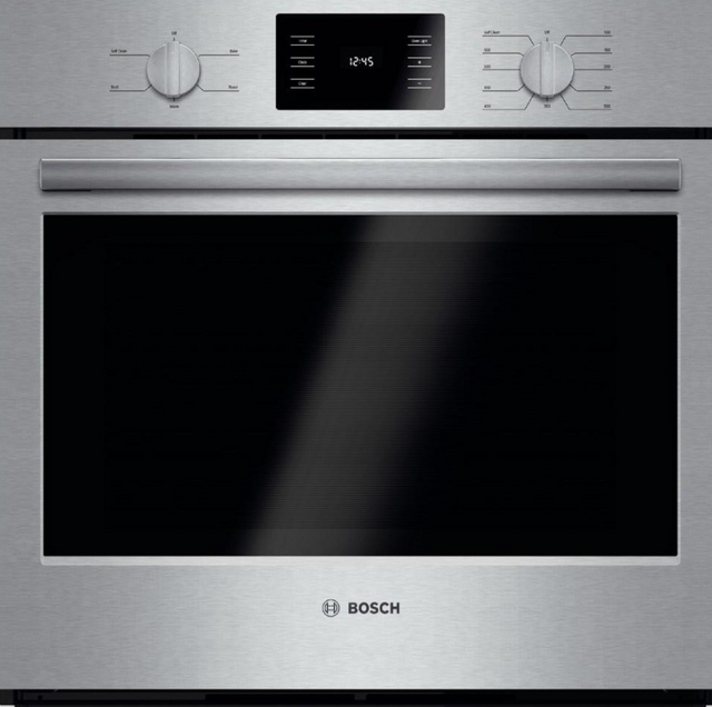"""Bosch 500 Series 30"""" Electric Single Oven Built In-Stainless Steel-HBL5451UC"""