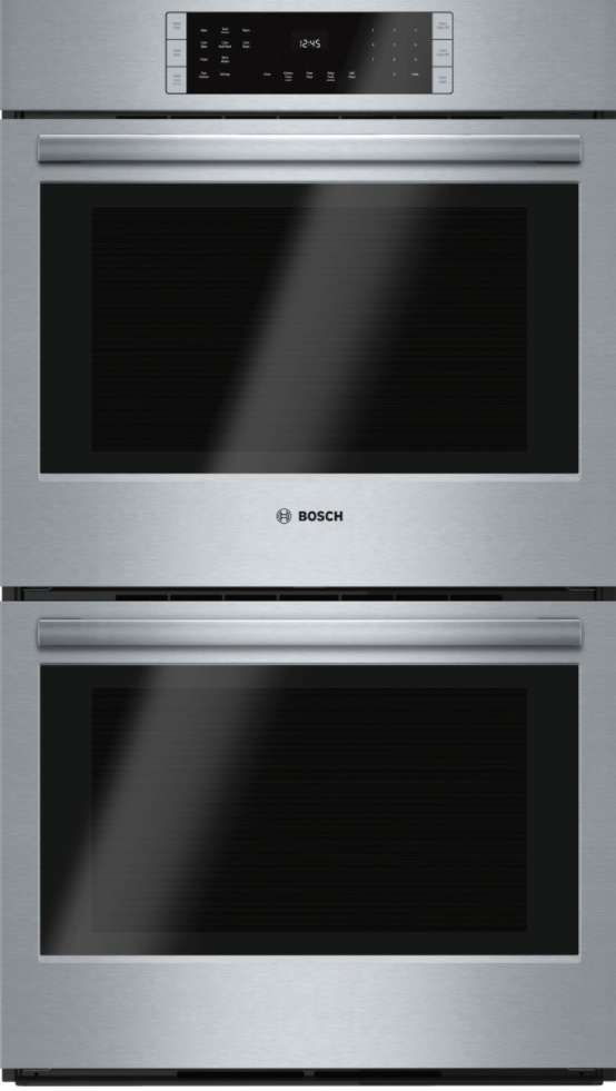 """Bosch 800 Series 30"""" Electric Double Oven Built In-Stainless Steel-HBL8651UC"""