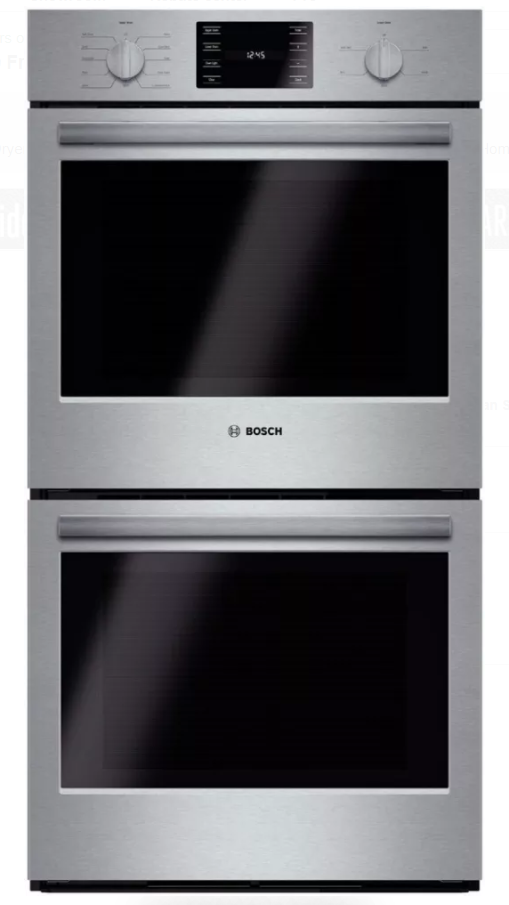 """Bosch 500 Series 27"""" Electric Double Oven Built In-Stainless Steel-HBN5651UC"""