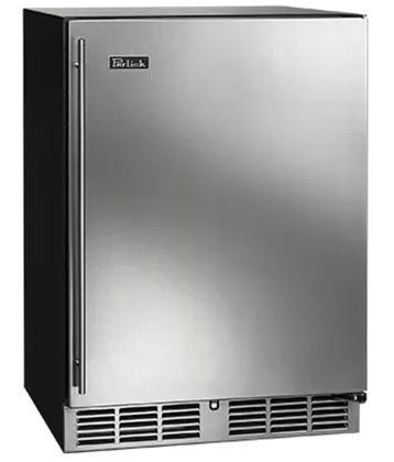 Perlick C-Series 5.3 Cu. Ft. Oudoor Compact Refrigerator-Stainless Steel-HC24RO-1L