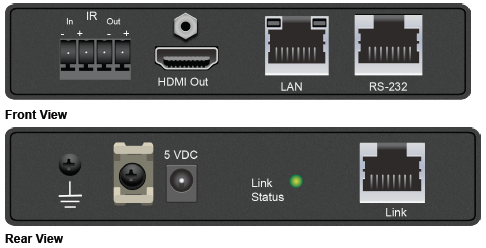 Savant® SmartLink HDBaseT™ Extender Set-HCX-SLN501-00