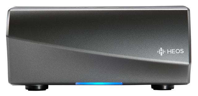 HEOS® By Denon® Wireless Multi-Room Stereo Preamplifier-Gunmetal Silver-HEOS LINK