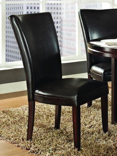 Steve Silver Co. Hartford Bonded Chair-Brown-HF500BR