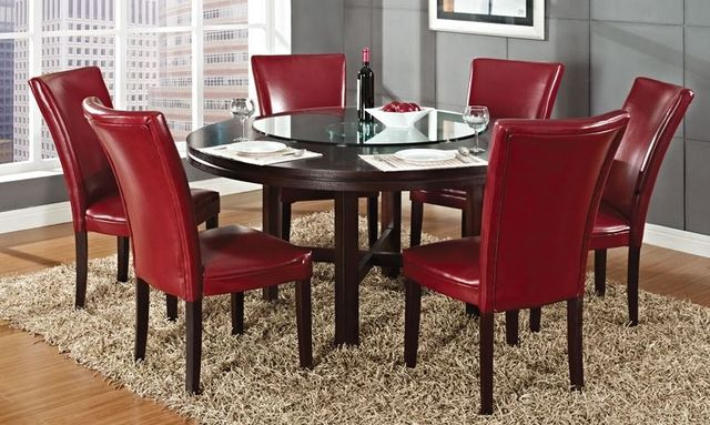 Steve Silver Co. Hartford Round Dining Table-HF6262T