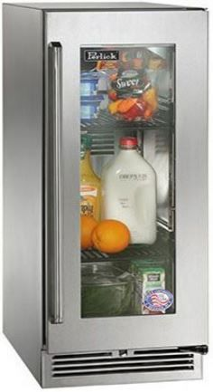 Perlick® Signature Series Outdoor Refrigerator-Stainless Steel-HP15RO-3-3R