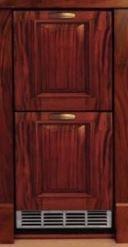 Perlick Signature Series 2.8 Cu. Ft. Outdoor Refrigerator Drawers-Wood Overlay-HP15RO-6