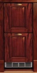 Perlick Signature Series 2.8 Cu. Ft. Compact Refrigerator Drawers-Wood Overlay-HP15RS-6
