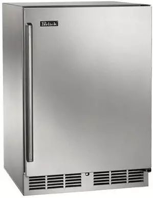 Perlick Signature Series 5.0 Cu. Ft. Outdoor Refrigerator/Wine Reserve-Stainless Steel-HP24CO-1L
