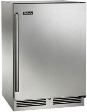 Perlick® Signature Series 5.2 Cu. Ft. Upright Freezer-Stainless Steel-HP24FS-3-1R