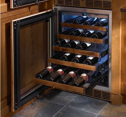 "Perlick® Signature Series 24"" Wine Reserve-Panel Ready-HP24WS-3-4L"