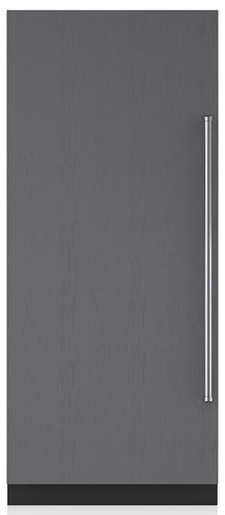 Sub-Zero 20.5 Cu. Ft. Integrated Column Refrigerator With Internal Dispenser-Panel Ready-IC-36RID