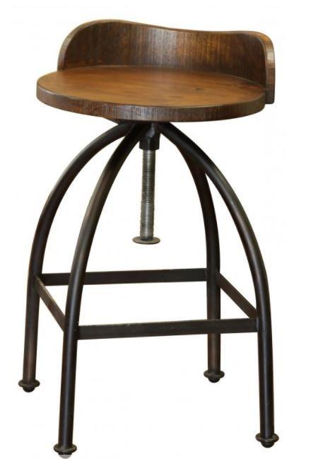 """International Furniture© 359 Pueblo 24-30"""" Barstool-IFD359BS2430"""