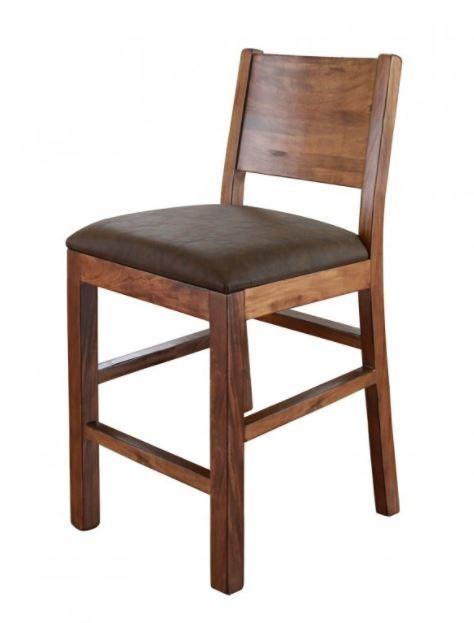 """International Furniture© 865 Parota 24"""" Barstool-IFD865BS24"""