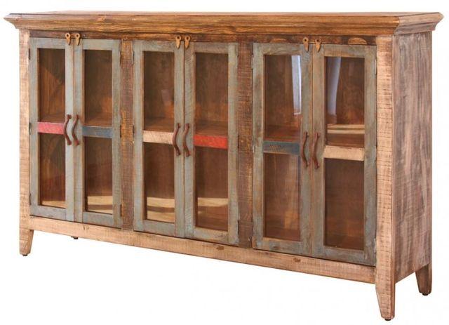 "International Furniture© 900 Antique 73"" Console-IFD966CONS-MC"