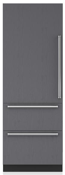 Sub-Zero® Designer 16.5 Cu. Ft. Panel Ready Column Refrigerator-IT-30RID-LH
