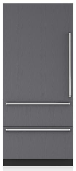 Sub-Zero® Designer 19.7 Cu. Ft. Panel Ready Bottom Freezer Refrigerator-IT-36CI-LH
