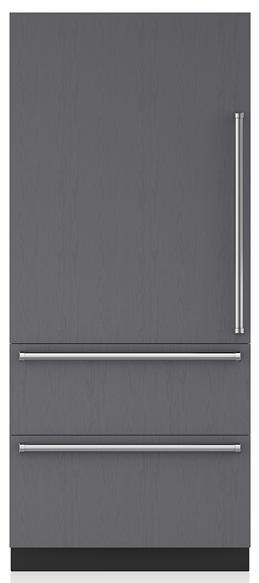 Sub-Zero® Designer 19.7 Cu. Ft. Panel Ready Bottom Freezer Refrigerator-IT-36CIID-LH