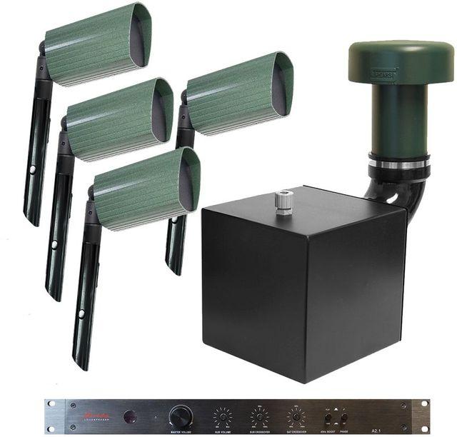 James Loudspeaker® Landscape Speaker System For Small/Medium Areas-105AT4-105AT4