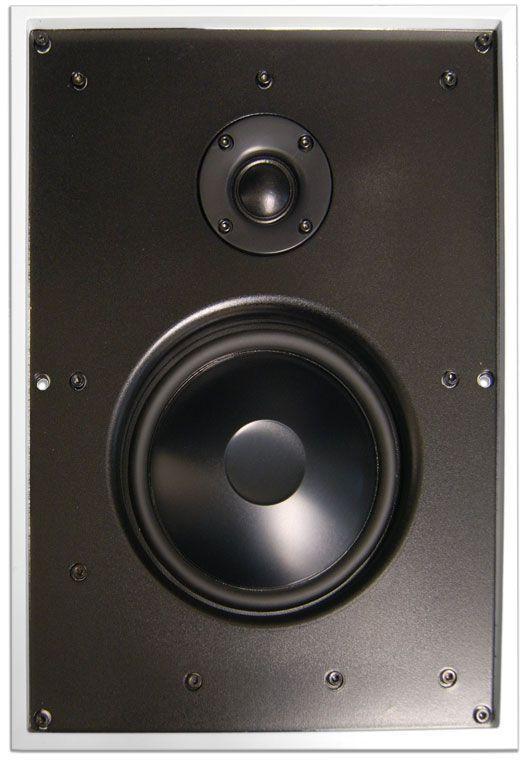 James Loudspeaker® 2-Way Ultra-Slim All-Weather In-Wall Speaker-62ASX-62ASX