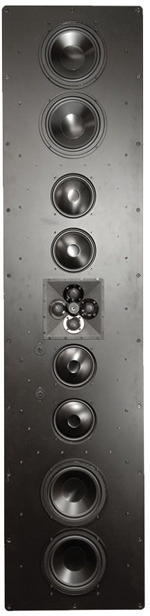 James Loudspeaker® 4-Way Shallow Depth In-Wall Speaker-812BE