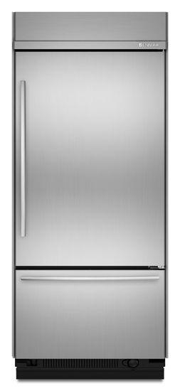 JennAir® 20.5 Cu. Ft. Built In Bottom Freezer Refrigerator-Stainless Steel-JB36SSFXRA