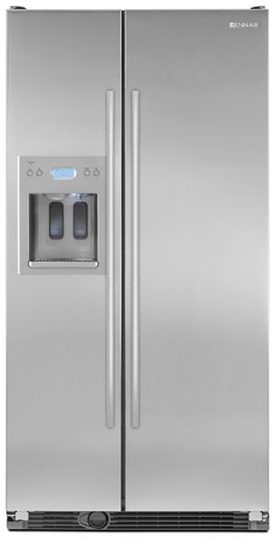 JennAir® Counter Depth Side-by-Side Refrigerator-Stainless Steel-JCD2595WES