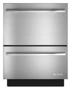 "JennAir® 24"" Double Drawer Dishwasher-Stainless Steel-JDD4000AWS"