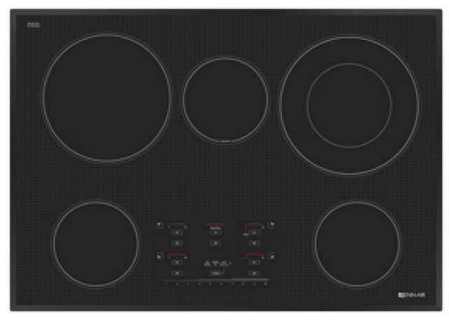 "JennAir® 30"" Electric Cooktop-Black-JEC4530YB"