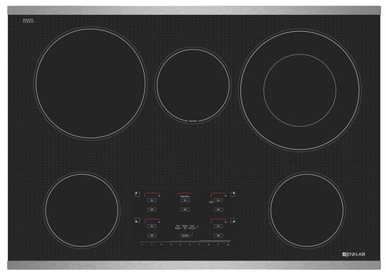 """JennAir® 30"""" Electric Cooktop-Stainless Steel-JEC4530YS"""