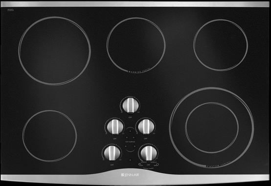 """JennAir® 30"""" Electric Cooktop-Stainless Steel-JEC9530BDS"""