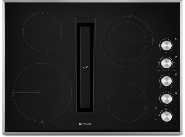 """JennAir® 30"""" Electric Downdraft Cooktop-Stainless Steel-JED3430GS"""