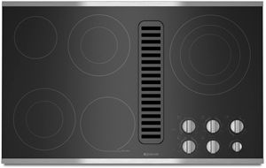 """JennAir® 36"""" Electric Downdraft Cooktop-Stainless Steel-JED3536WS"""