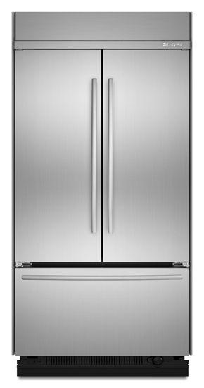 JennAir® 22.6 Cu. Ft. Built In French Door Refrigerator-Stainless Steel-JF42SSFXDA