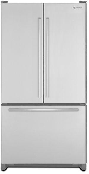 JennAir® 19.6 Cu. Ft. Cabinet Depth French Door Refrigerator-Monochromatic Stainless Steel-JFC2089WEM