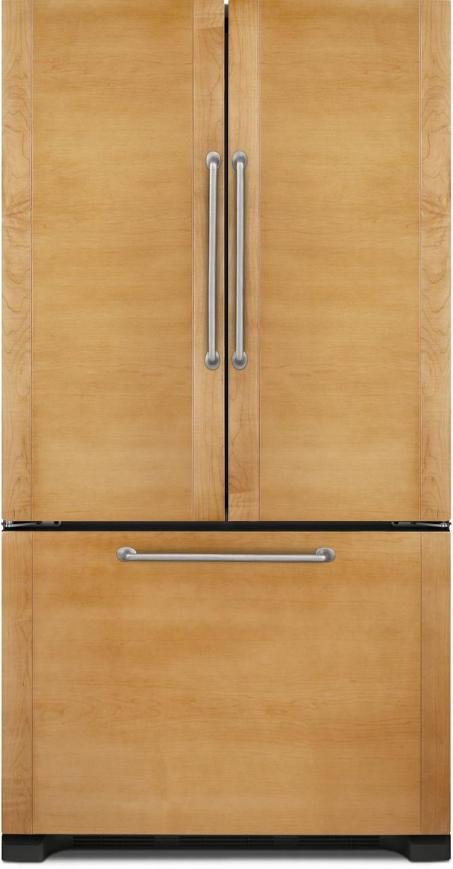 JennAir® 21.9 Cu. Ft. Counter Depth French Door Refrigerator-Panel Ready-JFC2290RTB