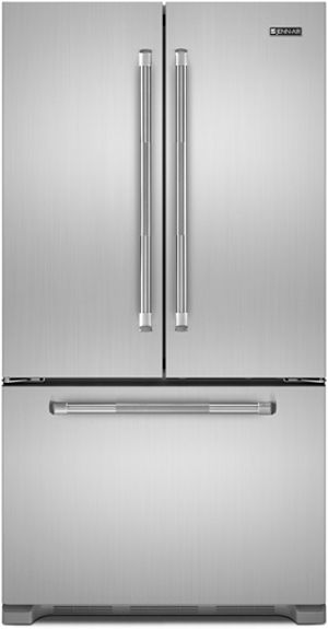JennAir® 21.8 Cu. Ft. Cabinet Depth French Door Refrigerator-Pro Style Stainless-JFC2290VEP