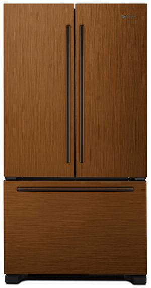 JennAir® 21.8 Cu. Ft. Cabinet Depth French Door Refrigerator-Oiled Bronze-JFC2290VPR