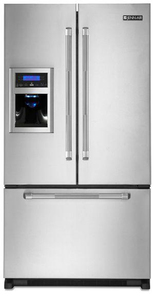 JennAir® 19.8 Cu. Ft. Cabinet Depth French Door Refrigerator-Stainless Steel-JFI2089AEP