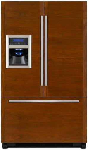 JennAir® 19.8 Cu. Ft. Cabinet Depth French Door Refrigerator-Stainless Steel-JFI2089WTS