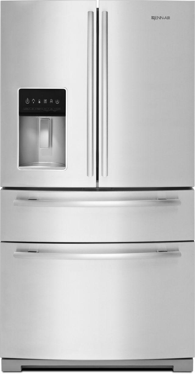 JennAir® 26.2 Cu. Ft. French Door Refrigerator-Stainless Steel-JFX2897DRM