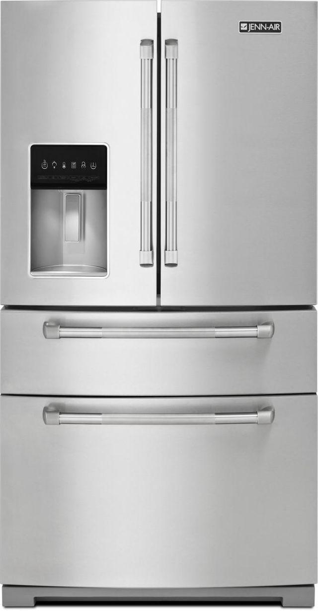 JennAir® 26.2 Cu. Ft. French Door Refrigerator-Stainless Steel-JFX2897DRP