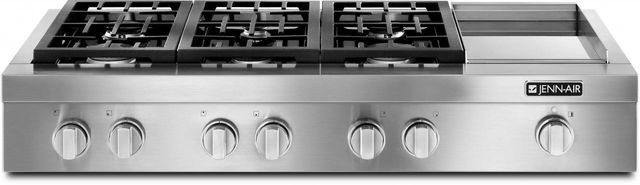 "JennAir® Pro-Style® 48""  Gas Rangetop-Stainless Steel-JGCP548WP"